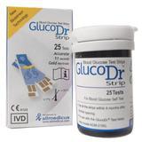 GLUCODR Strip Biosensor 25 [AGS -25] - Alat Ukur Kadar Gula
